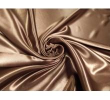 Атлас ш.1,5м. молочный шоколад однотонный