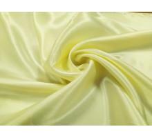 Атлас ш.1,5м. молочный однотонный