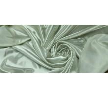 Атлас ш.1,5м.холодный молочный однотонный