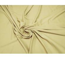 Трикотаж Джерси ш.1,5м светло-бежевый однотонный