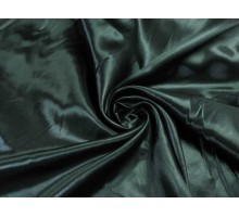 Атлас ш.1,5м. черный однотонный