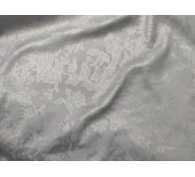 Тк.костюмная ш.1,45м. жаккард серо-серебряная С1000