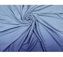 """Трикотаж """"Ангора"""" ш.1,5м. синий с градиентом 15679 С2"""