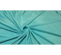 Мех велюр ш.1,6м. голубой 16-4535 однотонный АКЦИЯ