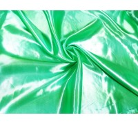 Атлас ш.1,5м. салатовый однотонный