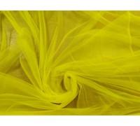 Евро фатин в.3м.ярко- желтый однотонный