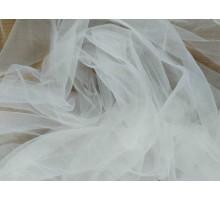 Фатин мягкий в.1,6м.  белый однотонный